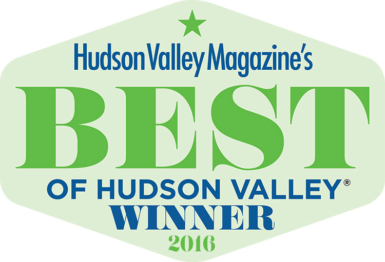 Best of Hudson Valley Winner - 2016